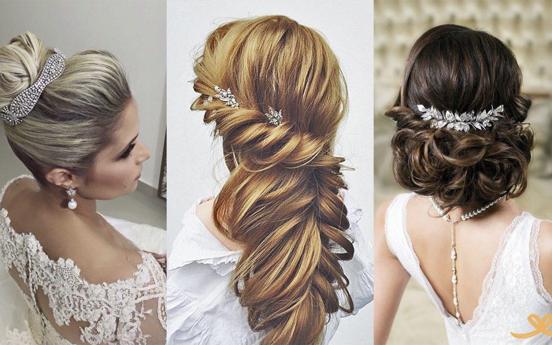 Famosos estilos de penteado de noiva para você se inspirar! KH15
